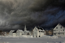 Monson Maine Winter Storm