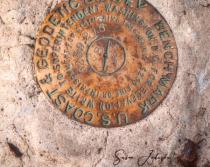 USGS Bench Mark - Yellowstone