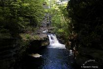 A Bushkill Falls waterfall