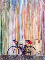 Bike Against The Wall