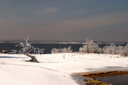 Lake Eufaula Snow