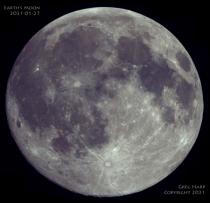Earth's Moon 2021-01-27