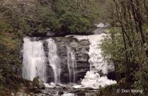 Partially Frozen Meigs Falls