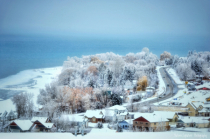 ~ A Blanket Of White Covers The Town ~