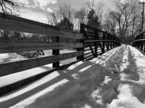 Bridge over troubled snow