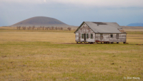 House In Front Of Capulin Volcano