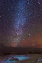Milky Way from the tropics