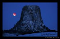 Super Blue Blood Moon @Devil's Tower