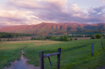 Cades Cove at Sun Down