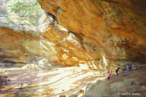 Ash Cave in Ohio
