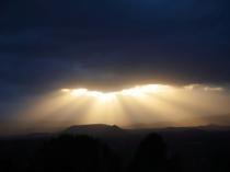 Sunset from Sedona airport
