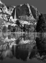 Yosemite Falls at Dawn