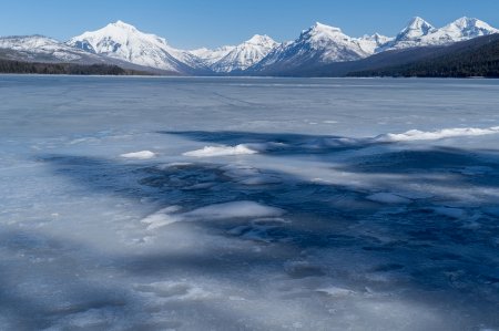 Shaking off Winter at McDonald Lake