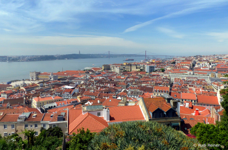 View from the top, Lisbon