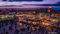 Night Market in Marakech