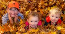 Grandkids Nolan, Addison and Aiden