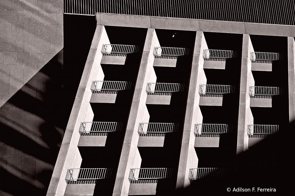 Lines angles and shadows