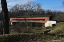 Smith Covered Bridge from other side...