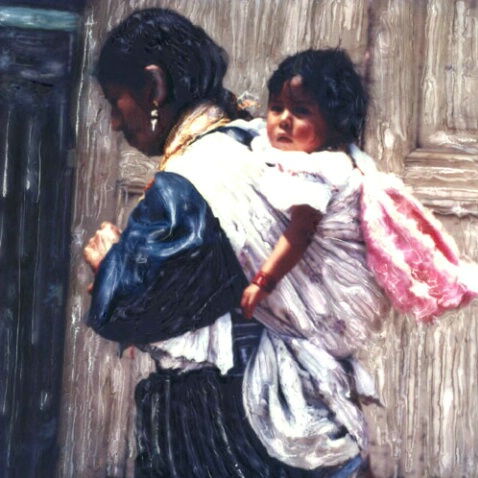 Guatemalan Mother & Baby
