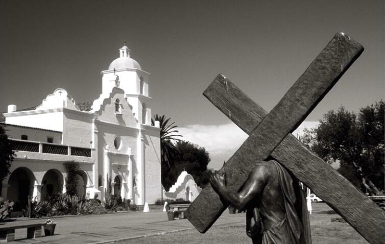 Facade, Mission San Luis Rey