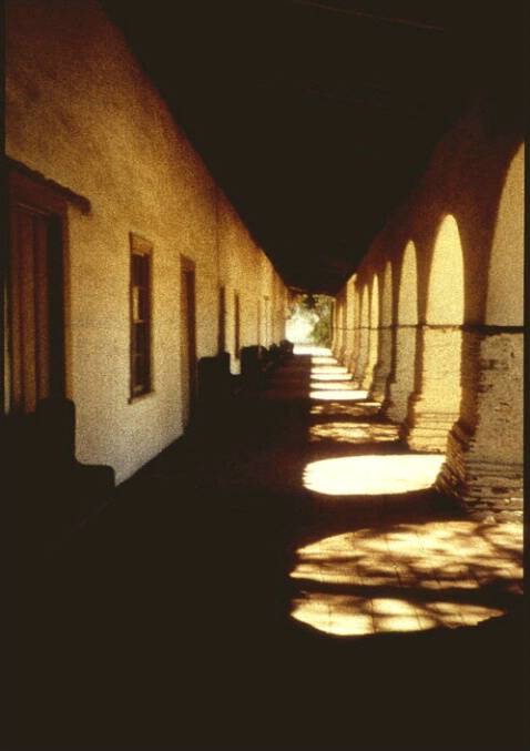 Colonnade, Old Mission San Juan Bautista