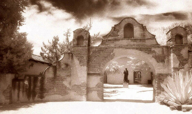 Entry Arch, Mission San Miguel Archangel