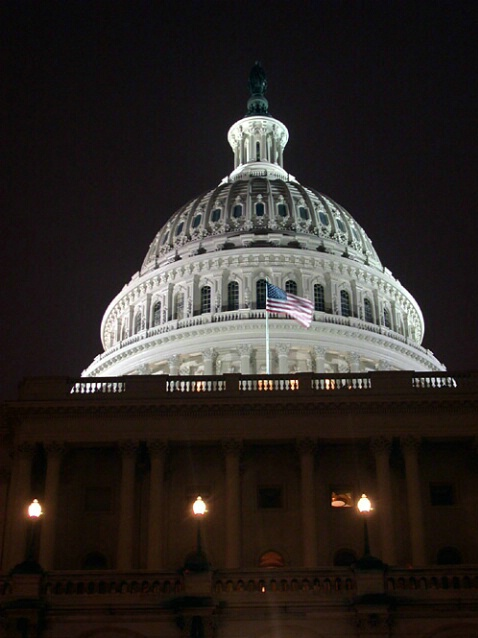 The Capitol By Night 2