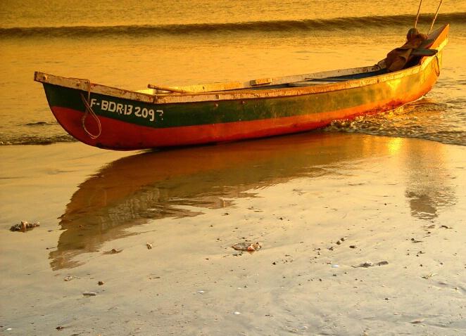 #209  a fisherman's boat