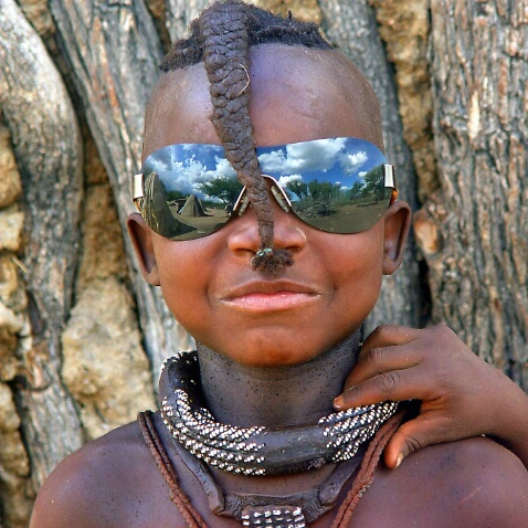 Her Village in my glasses