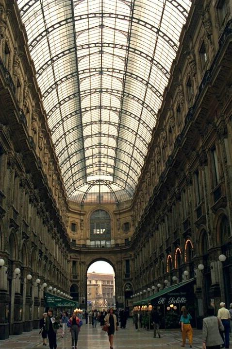Arcade, Galleria Vittorio Emanuele II
