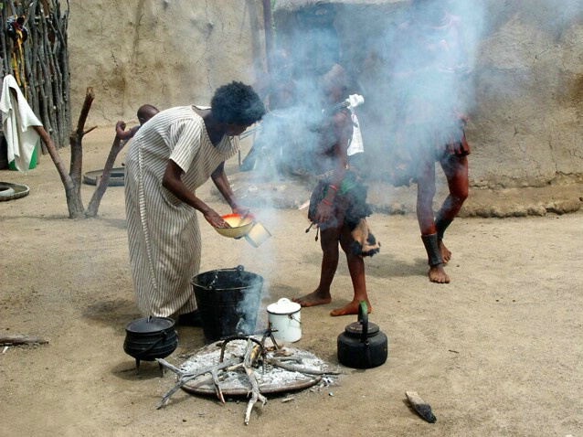 Dinner Preparation-Himba Tribe