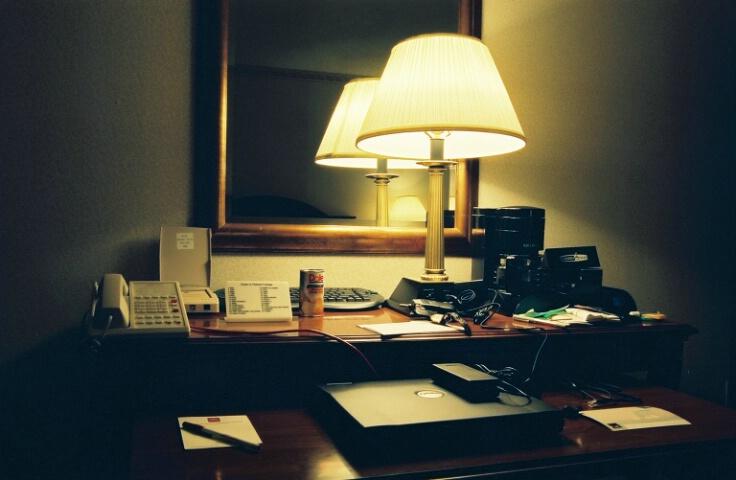 Hotel Room Desktop - Before