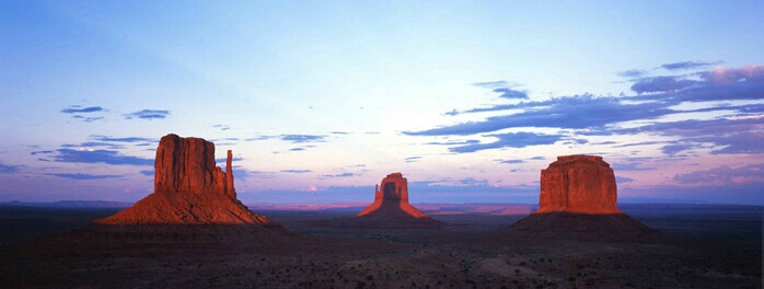 Monument Valley Sunset Panorama 2