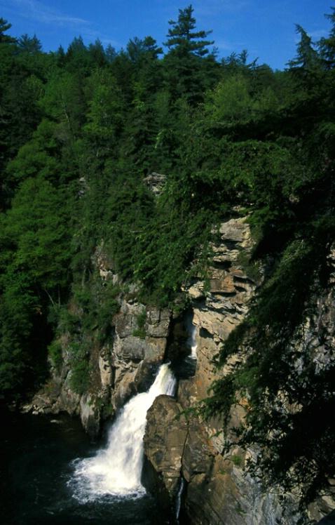 Linville Falls, Plunge Basin