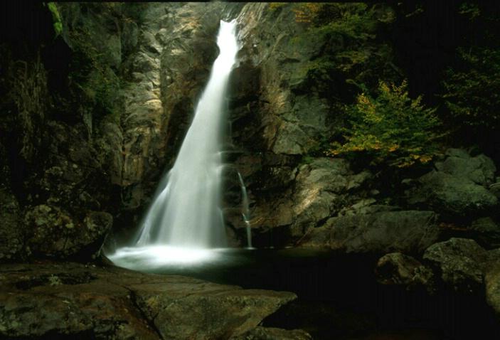 Glen Falls, NH..big drop