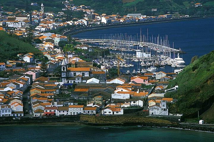 Yacht Harbour, Horta, Azores