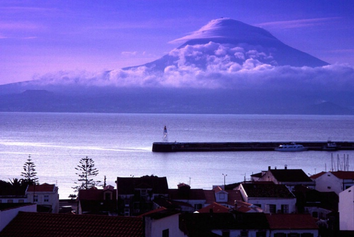 Mnt Pico, early morn..Azores