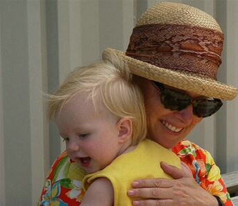 Joanie and Gracie