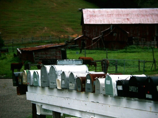 Rural Mail Boxes