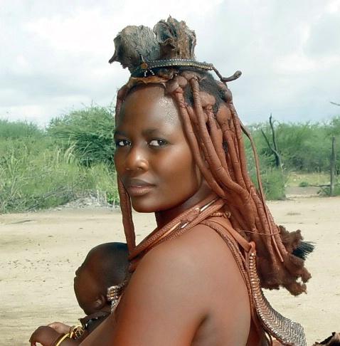Karutu, a Himba woman.