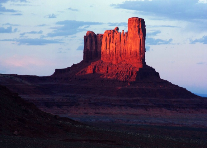 Monument Valley Sunset #4