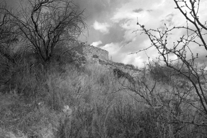 Tuzigoot converted to black and white