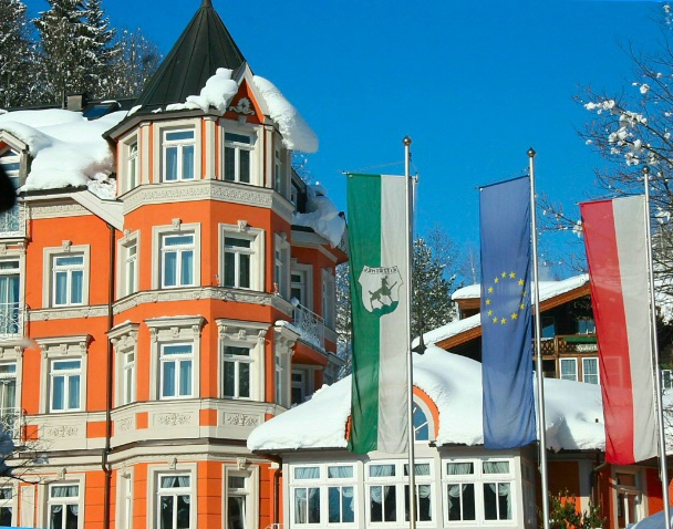 Colorful Kitzbuhel