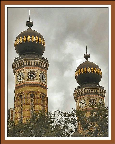 Great Synagogue Minarets