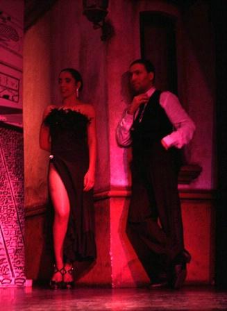 Tango spectator couple