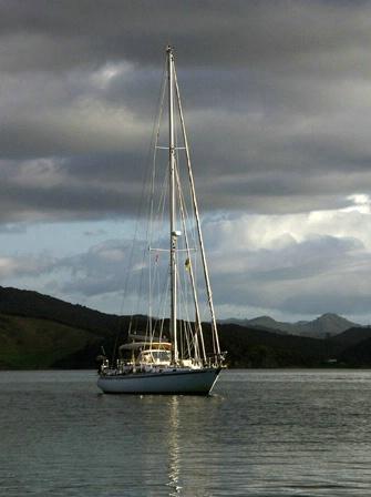 Majestic sloop Bay of Islands NZ