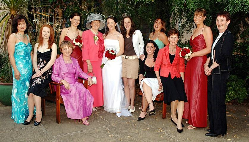 Bridal Party at Grace' wedding