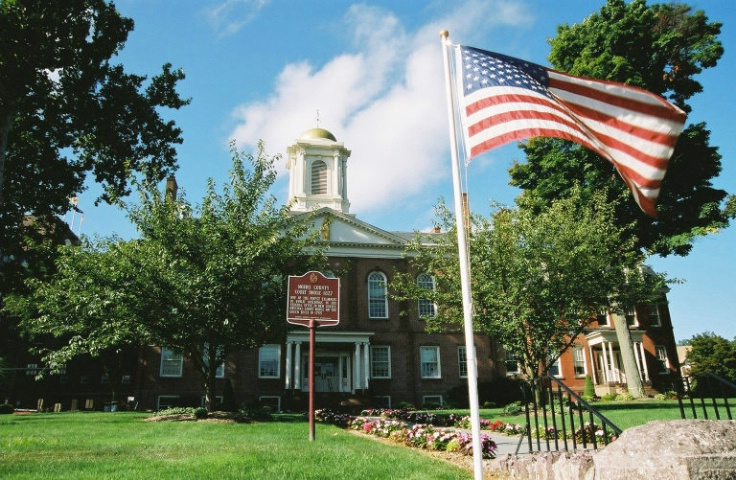 Historic Monument: Morris County Courthouse