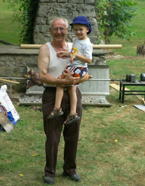 Alois and Grandson Shawn
