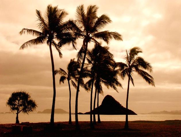 Chinaman's Hat Island, Oahu